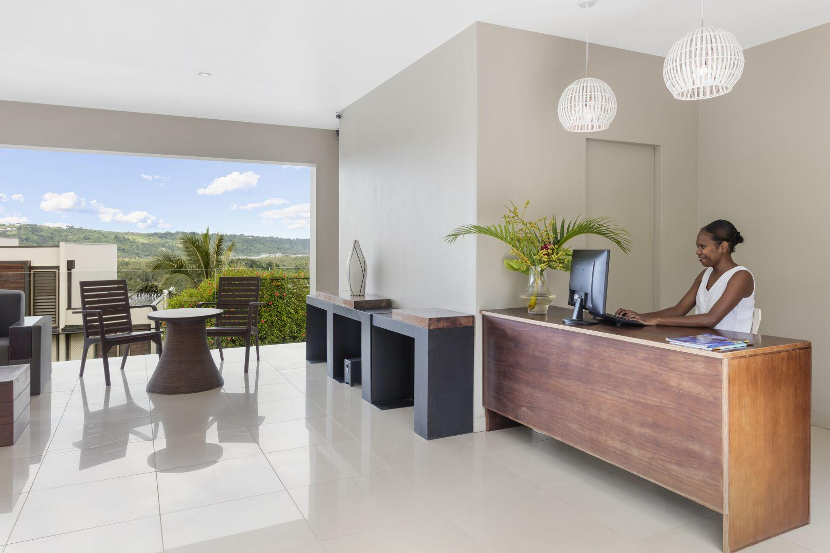 The Terraces reception