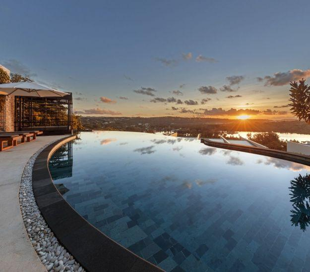 The Terrraces pool | Sunset